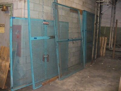 1 section Heavy Duty Expanded Metal Security Cage Wall, Need bolts & Door Hinges