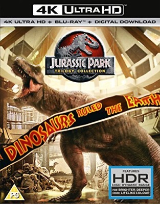 Jurassic Park Trilogy - (4K UHD)  BLU-RAY NEW