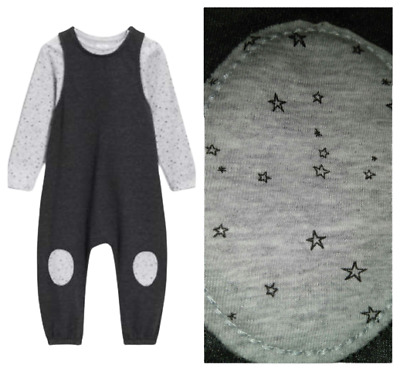 NEXT Outfit Jumpsuit Girls 3-4 4-5 5-6 All In One & Top Pink Stars Cats BNWT