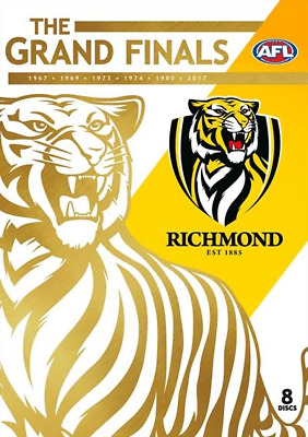 AFL - Richmond - The Grand Finals | Collector's Edition (DVD, 2018, 8-Disc Set)