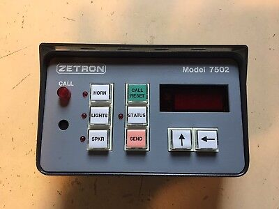 NEW Zetron Model 7502 DTMF Encoder & Decoder
