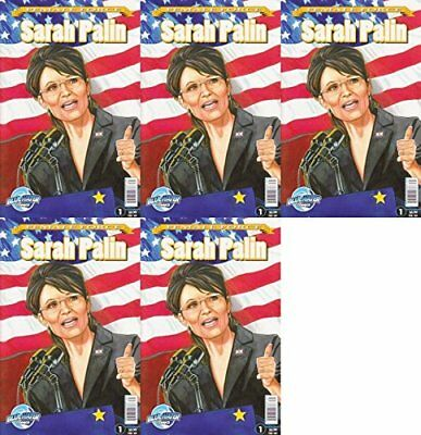 Female Force Sarah Palin One-Shot (2009) Bluewater Productions - 5 Comics