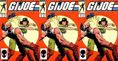 G.I. Joe: A Real American Hero #67 (1982-1994) Marvel Comics - 3 Comics