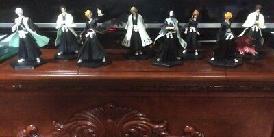 Lot Set Of 8 Bleach  Figure Characters BANDAI JAPAN