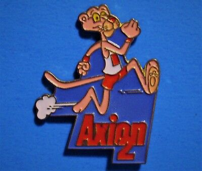 Pink Panther - Running - Axion 2 - Vintage 1991 United Artist Lapel & Hat Pin