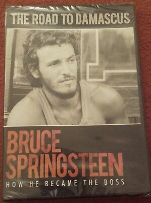 """Bruce Springsteen """"The Road To Damascus"""" How He Became The Boss. BRAND NEW DVD"""