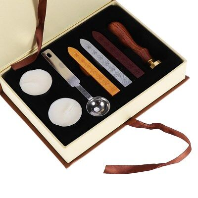 Vintage Seal Sealing Wax Stick Stamp For Letters Wedding Party Invitation Set