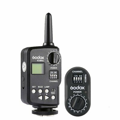 Godox FT-16 Wireless Power Controller Remote Flash Trigger for Godox Canon Nikon