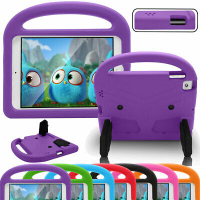 For Apple iPad 2 3 4 Rugged Kids Shock Proof Soft Rubber Stand Tablet Case Cover