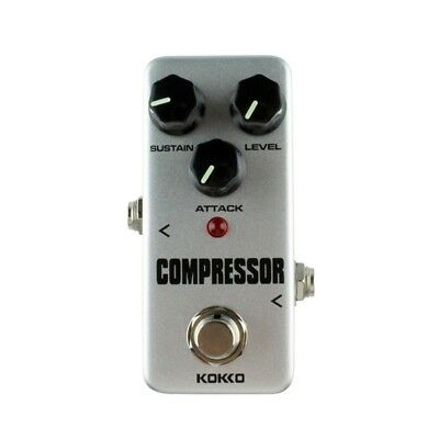KOKKO FCP2 Mini Compressor Pedal Portable Guitar Effect Pedal High Quality L6K2