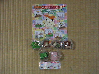 YUJIN Hamtaro Box World all 6pcs figure set character Doll collectible A48