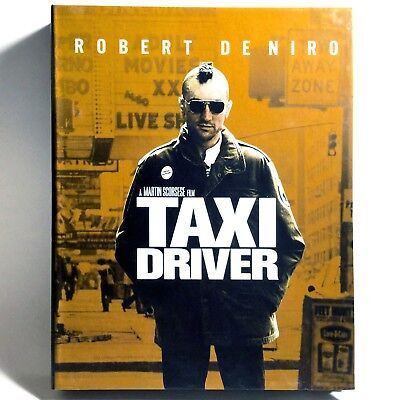 Taxi Driver (Blu-ray Disc, 1976, Digibook Edition) Like New !