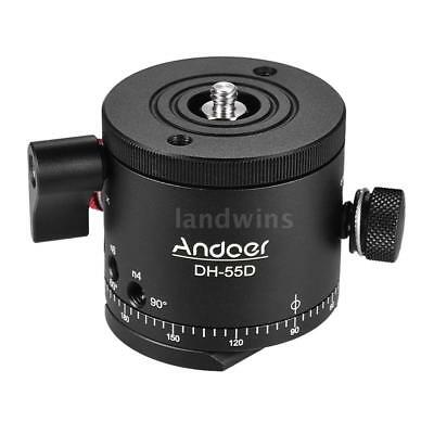 Andoer DH-55D HDR Panorama Panoramic Ball Head with Indexing Rotator W6I6