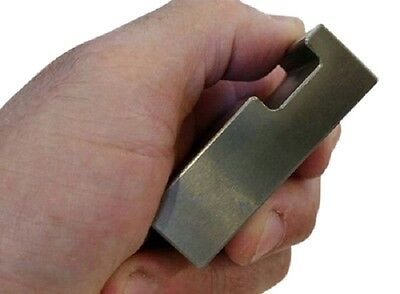 Tungsten Stringer Notched Bucking Bar 1.53 Lbs Free Shipping