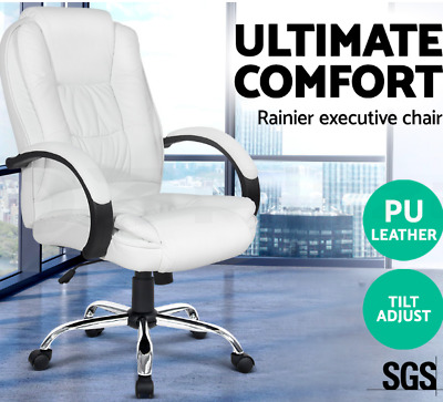 Multi-layer Padded Office Chair Executive Premium PU Leather High back Chair