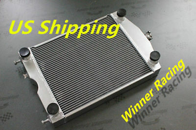 "Aluminum Radiator For Ford 2N/8N/9N tractor w/flathead V8 engine 2x1""up to 700HP"