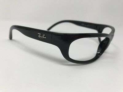 1efbf3a69a RAY BAN RB4033 601 Stunning Glossy Black Wrap Sunglasses Frames 8151 ...