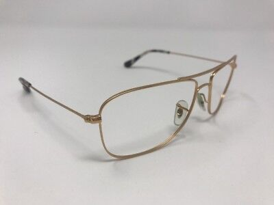 bba175557c RAY-BAN PRE-OWNED MATTE GOLD PILOT RB3543 112 59mm Sunglasses Q965 ...