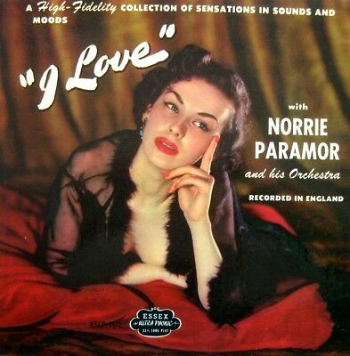 "NORRIE PARAMOR and his Orchestra ""9 Love""  10"" LP Essex ESLP 102 Cheeskake Cover"