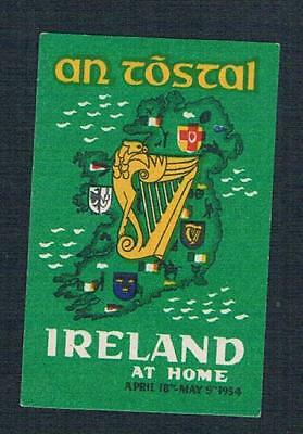 Ireland 1954, An Tostal Festival Label, Mnh, Very Scarce (A77)