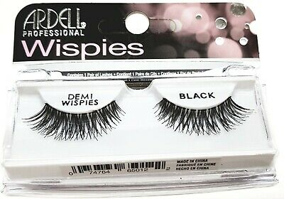 Ardell Demi Wispies Natural Black False Eyelashes 100% Human Hair