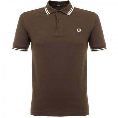 7caca417 FRED PERRY MENS M3600 Original Twin Tipped Short Sleeve Polo Shirt ...