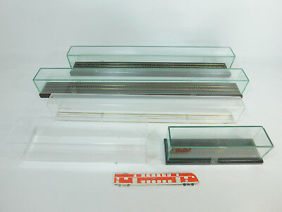 bc459-7 #5x gauge H0 Display Cases Partly Real Glass, 1 x train-safe 60 cm,