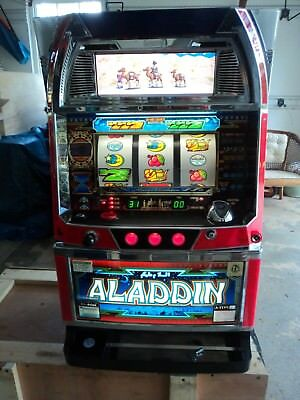Quarter / Token Pachislo Aladdin Evolution Video Slot Machine / 297 Pg Manual