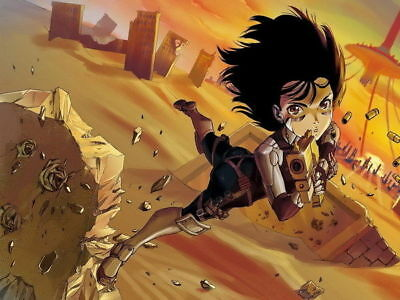 159245 Battle Angel Alita Fight Gunnm Last Order Anime Wall Print Poster Affiche
