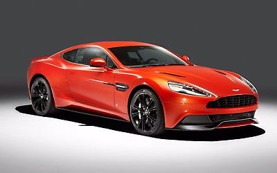 162425 Q BY ASTON MARTIN VANQUISH 2014 Wall Print Poster Affiche