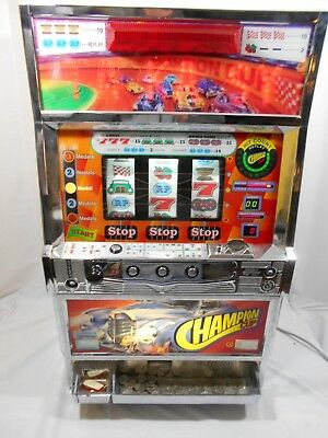 Vintage Slot Machine Takasago Japanese Tokens Takasy Champion Cup Electric Works
