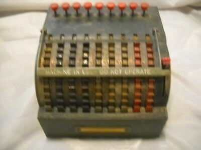 Vintage Star Adding Machine by Todd Protectograph Co. Rochester NY USA