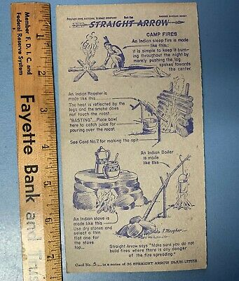 1950's Nabisco Straight Arrow Injun-nuties Collectors Cards