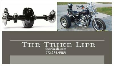 TRIKE AXLE CONVERSION Kit for Harley Davidson Sportster 1991-current