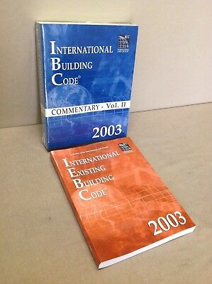ICC International Existing Building Code 2003 and commentary vol II, unused