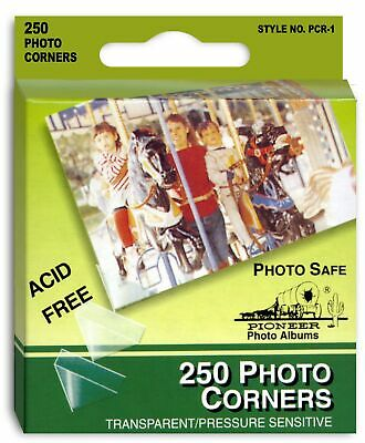 Pioneer Photo Albums PCR1 Photo Corners 250 Count