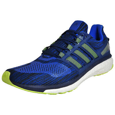 5abf44a36 Adidas Energy Boost 3 Mens Superior 5 Star Running Shoes Gym Trainers Blue