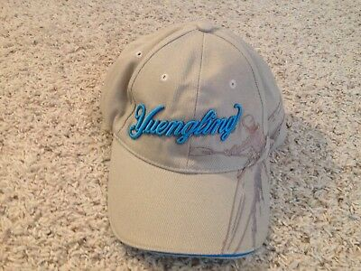 Yuengling America's Oldest Brewery Since 1829 Kayaker Beige Adjustable Strap Hat