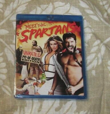 Meet The Spartans Blu-Ray Dvd Brand New Free Shipping
