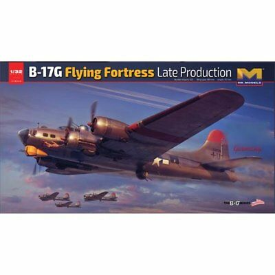 NEUHEIT ! BOING B-17 G FLYING FORTRESS LATE VERSION IN  32nd SCALE NEW EDITION
