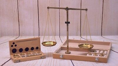 Travel Box Balance Beam Scale with Extra Set of Weights