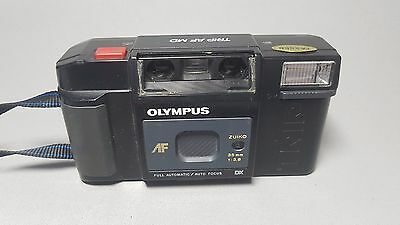 Vintage Olympus Trip AF MD 1980s Compact Point & Shoot Retro 35mm Film Camera