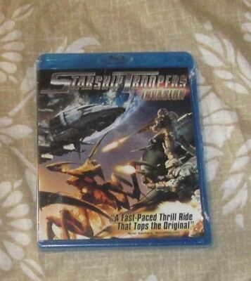 Starship Troopers Invasion Blu-Ray Disc Brand New Free Ship