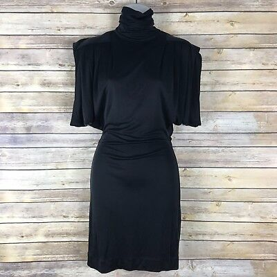 Mara Hoffman Cowl Back Strappy Back Backless Dress 100 Silk Xs Rare