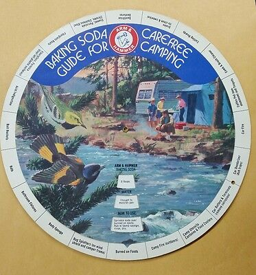 Arm & Hammer Baking Soda Guide For CareFree Camping Vintage Guide