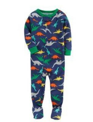 Carters Baby One Piece Sleep Suit Dinosaur Print Size 6 Mths