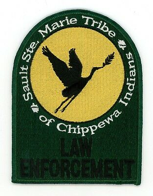 Sault Ste Marie Tribe of Chippewa Indians Law Enforcement Michigan