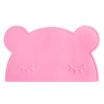 Kids Placemats - Silicone Placemat For Kids, Silicone Bear Placemat ,Water L3J1