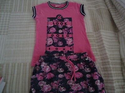 Girls size 9-10 Coccodrillo summer outfit