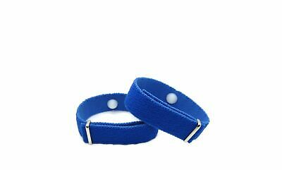 Acupressure Motion Sickness Bracelet, Essential Oil Aromatherapy Bands (pair)